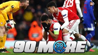 ARSENAL 1-2 OLYMPIACOS | #90More