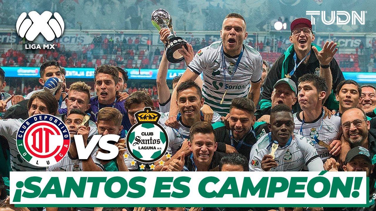 ¡Congelan el 'Infierno'! Santos logra su sexto título en Liga | Toluca 1-1 Santos Final CL-18 | TUDN