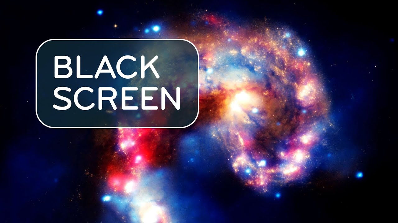 Celestial White Noise Black Screen 🚀  Sleep Sounds 10 Hours