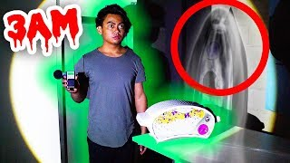 GHOST HUNTING WITH AN EZ BAKE OVEN! (Voices Heard 3AM)