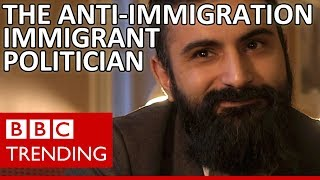 Hanif Bali: The anti-immigration politician... who