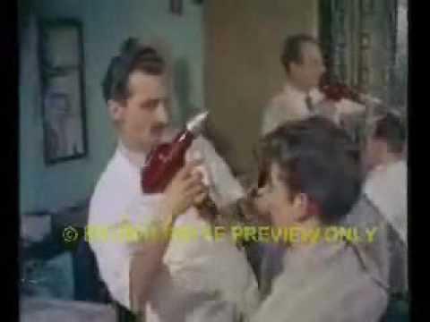 Teddy boy rockabilly quiff hair cut 60s colour!