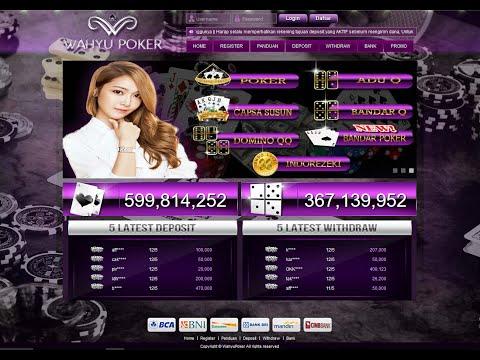 WahyuPoker | Agen Poker | BandarQ Online | Poker Online