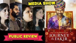 The Extraordinary Journey Of The Fakir PUBLIC REVIEW | Media Show | Dhanush