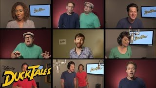 """All-New """"DuckTales"""" Cast Sings Original Theme Song 