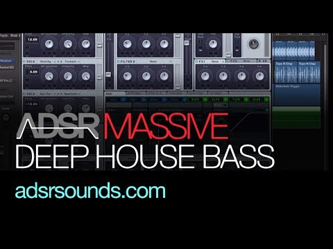 NI Massive tutorial - Dirty Deep House Bass