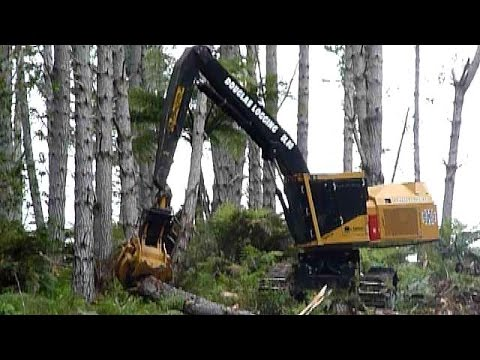 forest harvesting machines new zealand