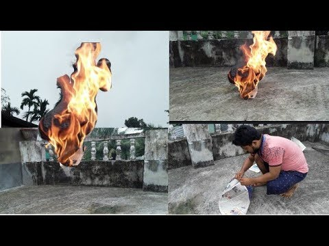 Fire paper loon || HOW TO MAKE A FLYING PAPER FIRE