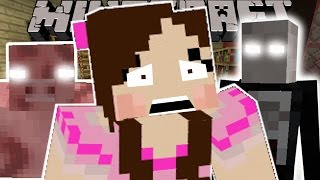 Minecraft: JUMPSCARES (HEROBRINE, SLENDERMAN, CLOWN, & MUTANT PIG!) Custom Command