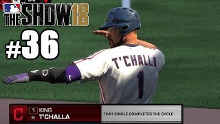 FIRST MAJOR LEAGUE CYCLE! | MLB The Show 18 | Road to the Show #36