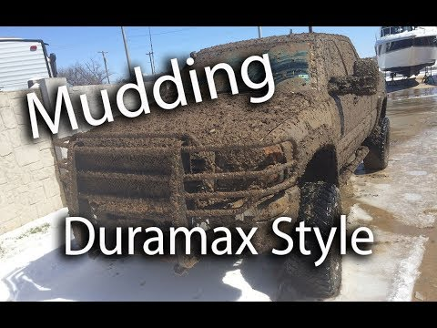 2006 Duramax LBZ Ripping up the Snow and Mud