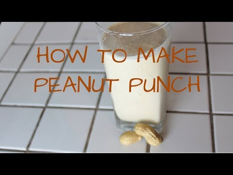 How to make Peanut Punch | Candy WorldTV