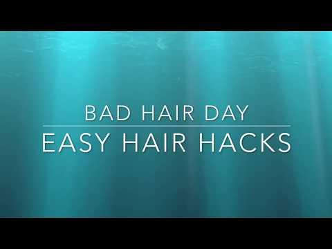 Bad Hair Day Easy Hair Hacks    The Savvy Beauty