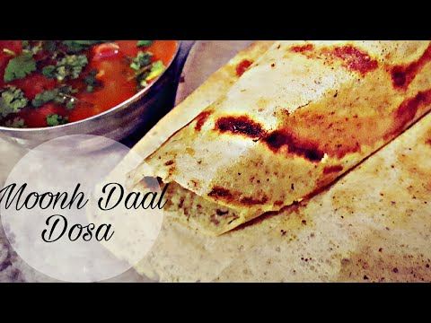 #Moong dal, urad dal dosa# moong dal dosa.#| by Everything is here |