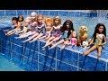 Download Video Download POOL ! Elsa and Anna toddlers - Barbie - boat ride - floaties - swim - water fun - splash 3GP MP4 FLV