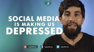Social Media is making us Depressed - Kamal Saleh