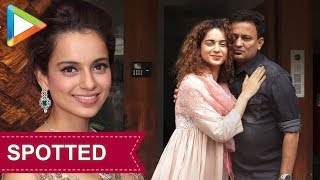 STYLE CHECK: Kangana Ranaut looks Classy in Traditional Salwar Suit