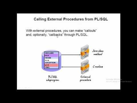 Oracle PlSql Call Java Method