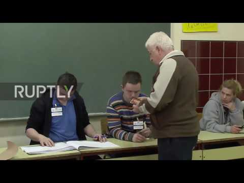 Serbia: Voters hit polling stations in Belgrade as elections get underway
