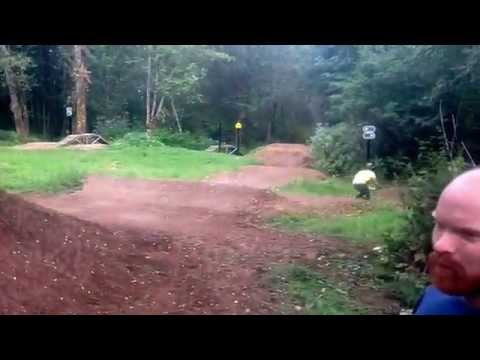Excitabike trail flow test