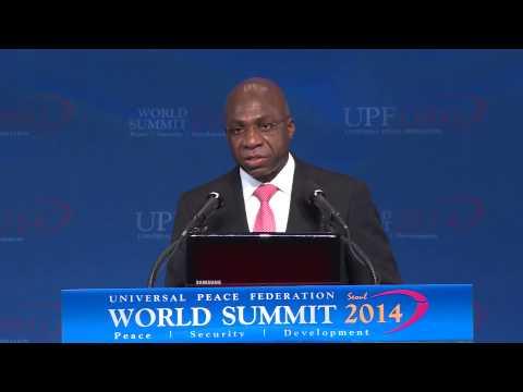 H.E. Amb. Antonio Tete - World Summit 2014