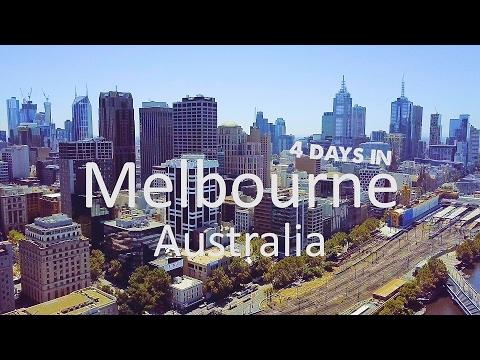 Melbourne, Australia - 4 day trip with Gopro and DJI Mavic Pro drone