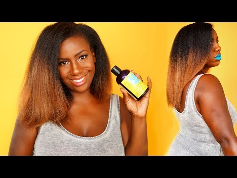 Curls Blissful Lengths Vitamin Hair Growth Challenge: Month 4