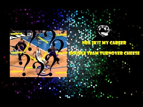 NBA 2k17 My Career #9 Double Team Turnover Cheese!!!