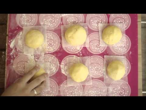 How to Pumpkin Chinese Bun (Gluten Free, without yeast)