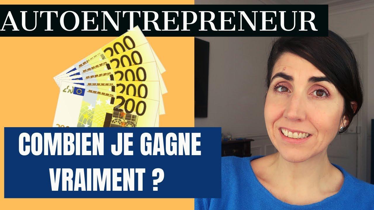 Autoentrepreneur microentreprise : combien je gagne vraiment?