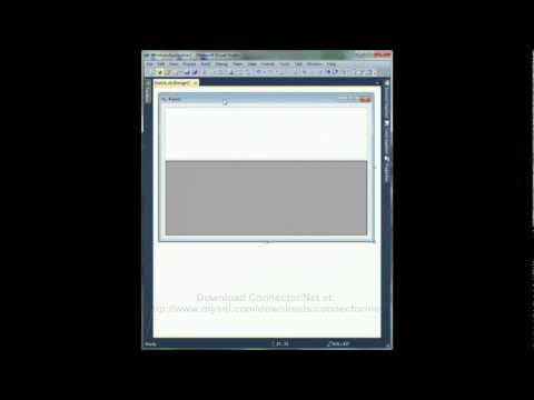 Connect to MySQL with Visual Basic using Visual Studio 2010 - Tutorial