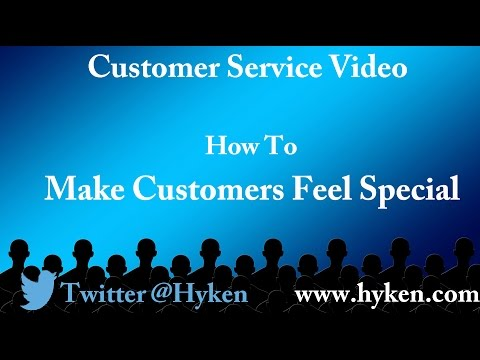 Customer Service Expert Explains How to Make Customers Feel Special