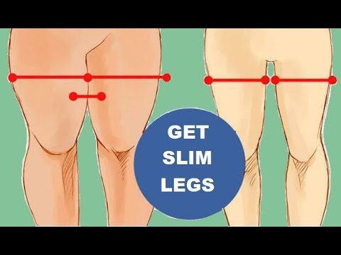 Lose Thigh and Leg Fat Fast (Toned Slim Legs)
