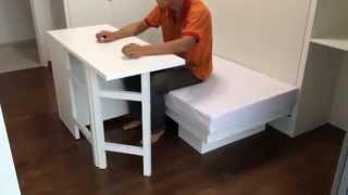 HWB Hidden Table. ARC @TAMPINES EC.Rm3+ Multi-Purpose Bench/Sofa/CoffeeTable/Kid