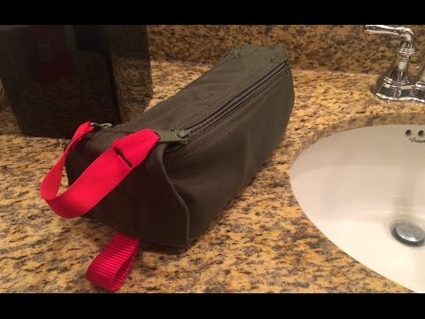Sewing For Guys: make your own toiletry bag