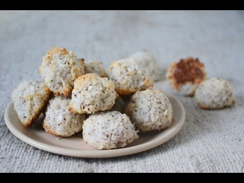 How To Make Eggless Coconut Macaroons Without Condensed Milk