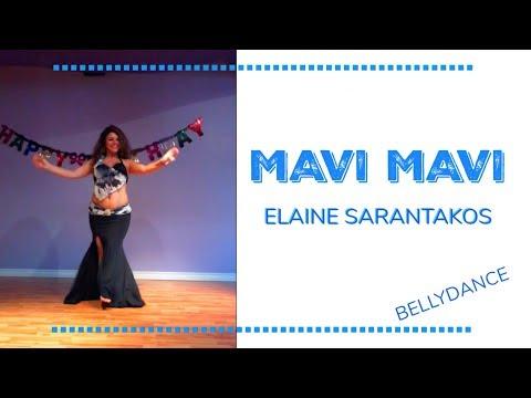 Mavi Mavi | Bellydance | Turkish - Elaine Sarantakos