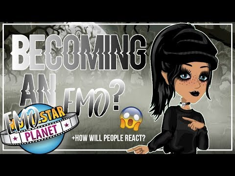 Becoming Emo on MSP??How will people react?!|MSP