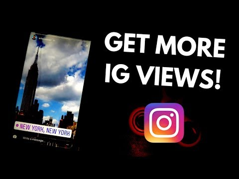 GET MORE VIEWS ON INSTAGRAM STORY! – How to hashtag your Instagram Stories & Instagram Views Hack