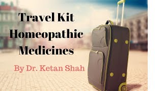 Travel Kit with Homeopathic Medicines | First AID |