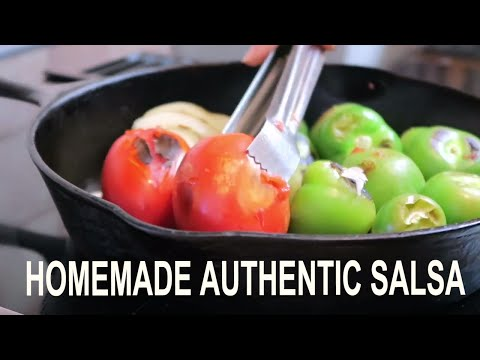 HOMEMADE AUTHENTIC MEXICAN SALSA | Salsa de Chile de Arbol