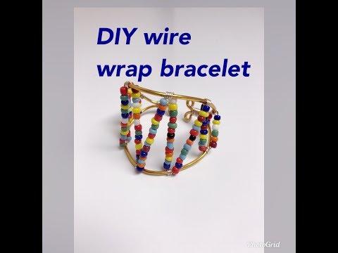 DIY MONDAY HANDMADE WIRE WRAP BRACELET