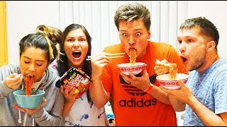 SPICY RAMEN CHALLENGE!! (EXTREMELY HOT)