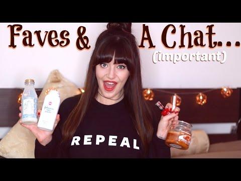 September Favourites 2016 & Pro Choice Chat | Melanie Murphy