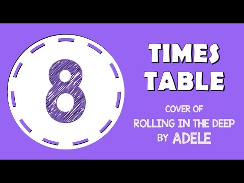 8 Times Table Song (Cover of Rolling In The Deep by Adele)