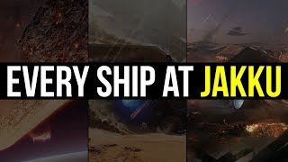 Every Ship at the Battle of Jakku | Star Wars Lore Explained