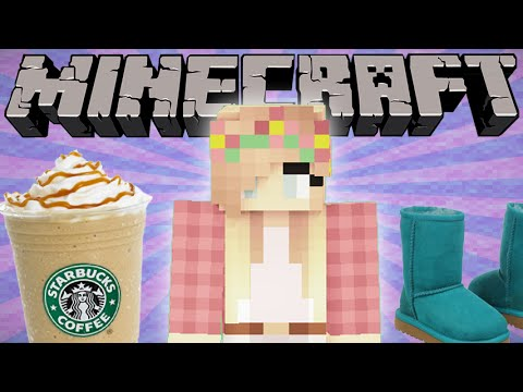 If White Girls Played Minecraft - Minecraft Machinima