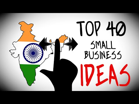 Top 40 Small Business Ideas in India for Starting Your Own Business