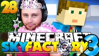 Minecraft: SkyFactory 3 - PRETTY PRINCESS AND PRESENTS?! [28]