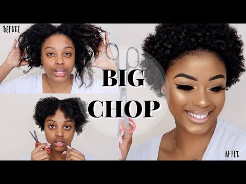 BIG CHOP | WATCH ME TRANSFORM | STARTING MY NATURAL HAIR JOURNEY